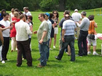 At the Lag B'Omer picnic