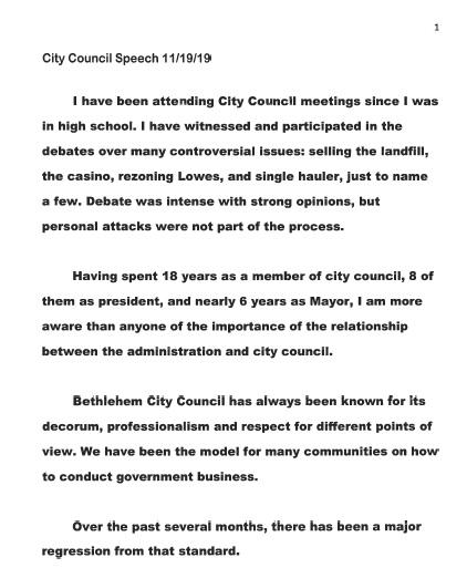 Mayor Council 1