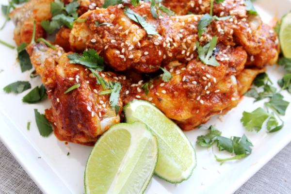 Chili Garlic Hot Wings