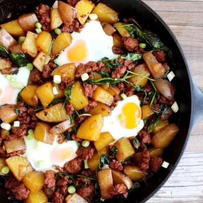 Chorizo Breakfast Skillet – Paleo and Whole 30