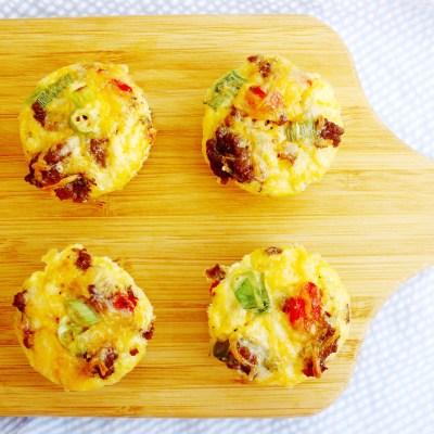 Southwestern Egg Cups – Keto Meal Prep