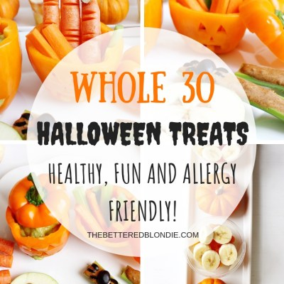 Whole 30 Halloween – Allergy Friendly Treats