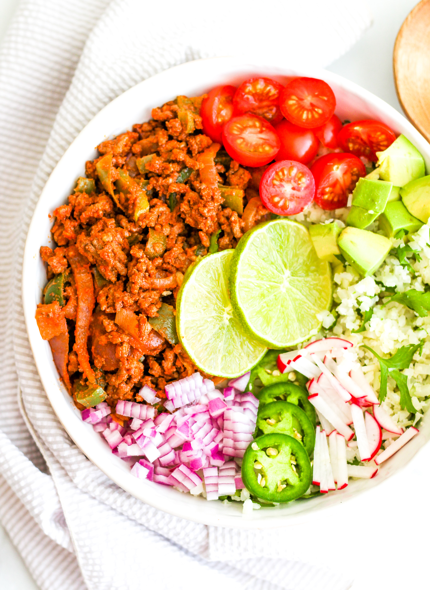 Easy Whole30 Taco Bowls