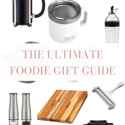 The Ultimate Foodie Gift Guide 2019