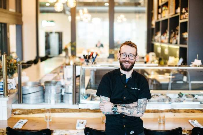 Chef Austin Navarre, Chelsea Farms Oyster Bar