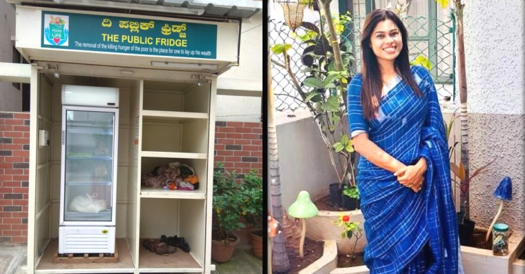 Fridge to Keep Food Fresh for Homeless? Talented Mum Makes it Happen in Bengaluru!