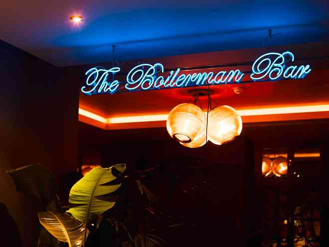 The Better places 25 hours hotel the royal bavarian Munich Boilerman bar