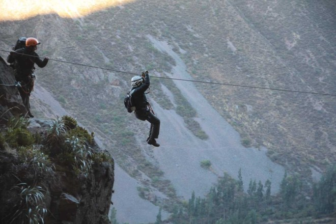 Skylodge Adventure Peru Hanging Lodges Cliff Cusco