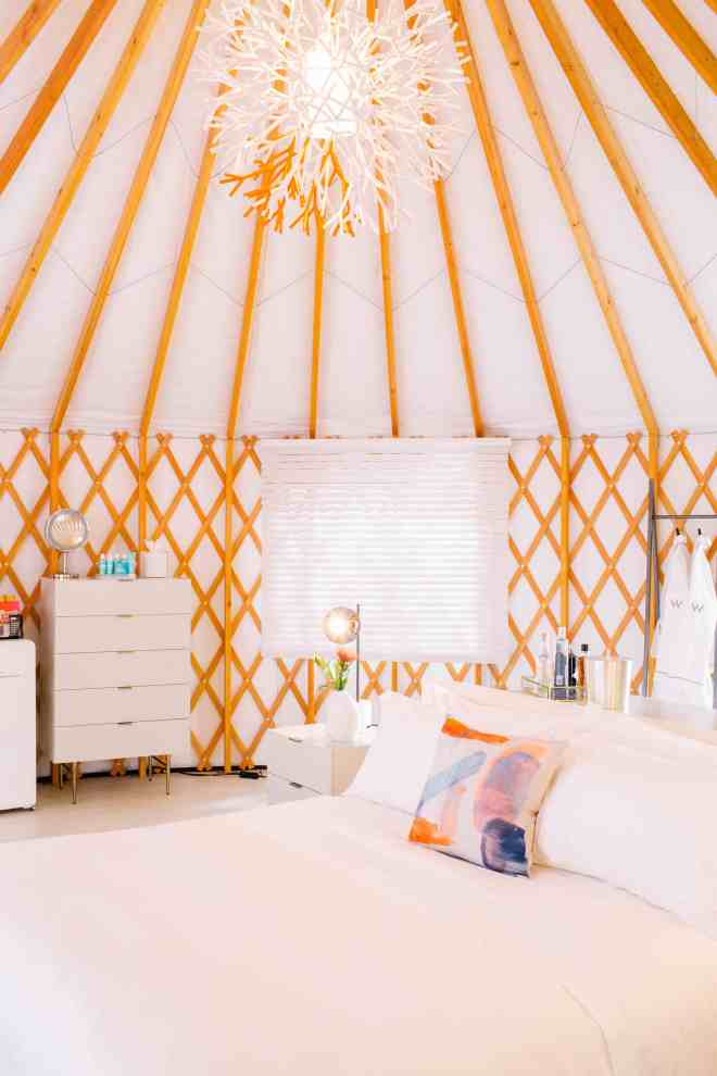 Design Yurts Marriott the W Coachella tents The Better Places Travel Magazine Design Campground Boutique Hotel
