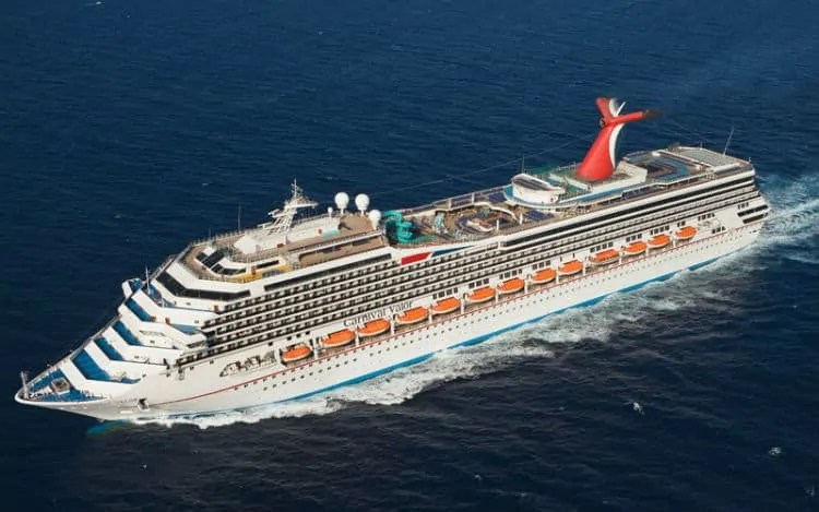 Carnival Valor in New Orleans