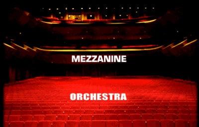 Orchestra or Mezzanine