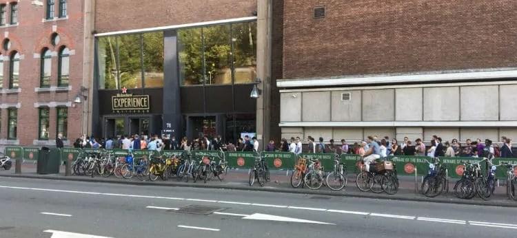 Heineken Experience queue