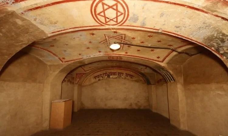 Prayer Room in Terezin Ghetto