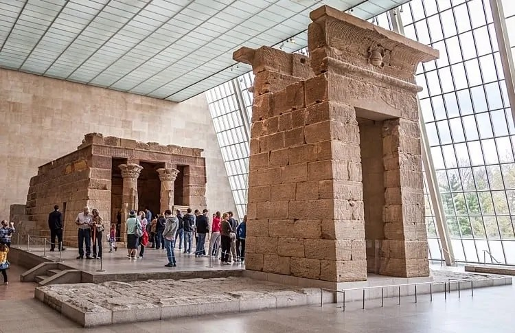 The Temple of Dendur at The Met