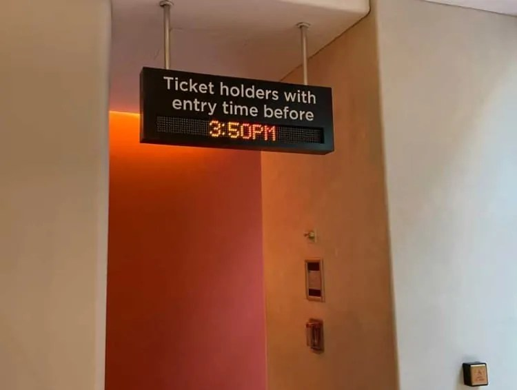 Timed Top of the Rock tickets