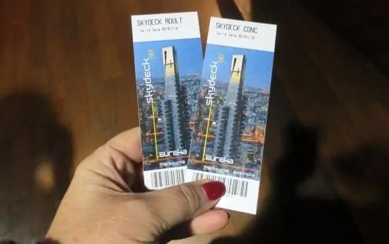 Eureka Skydeck tickets