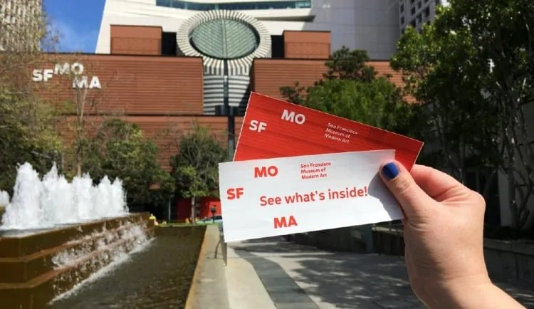 SFMoMA tickets - price and discounts