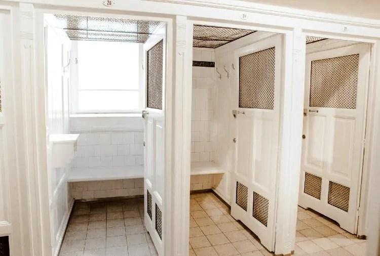 Szechenyi Baths Cabin