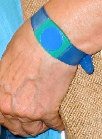 Szechenyi Baths ticket wristband