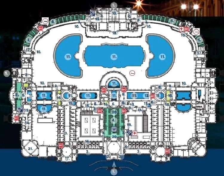 Szechenyi Spa Baths' map