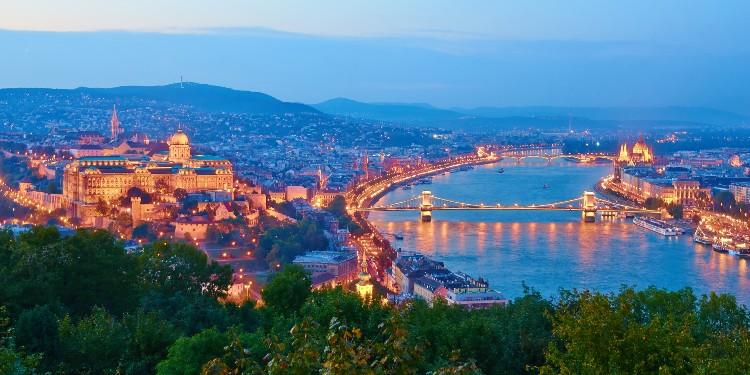 View of Budapest from Gellert Hill