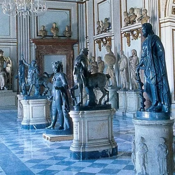 Hall of Capitoline Museum