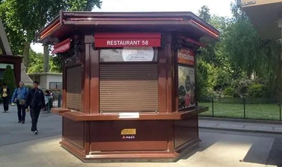 50 Tour Eiffel restaurant's Welcome Desk