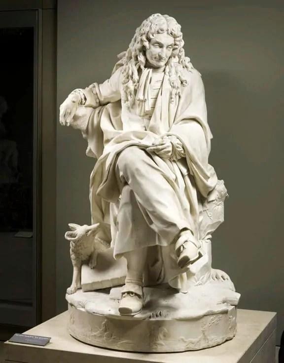 Jean de La Fontaine at Louvre Museum