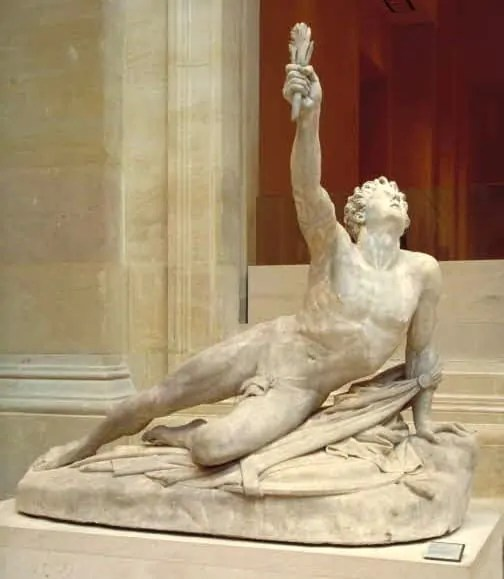 Soldier from Marathon Announcing Victory at Louvre Museum
