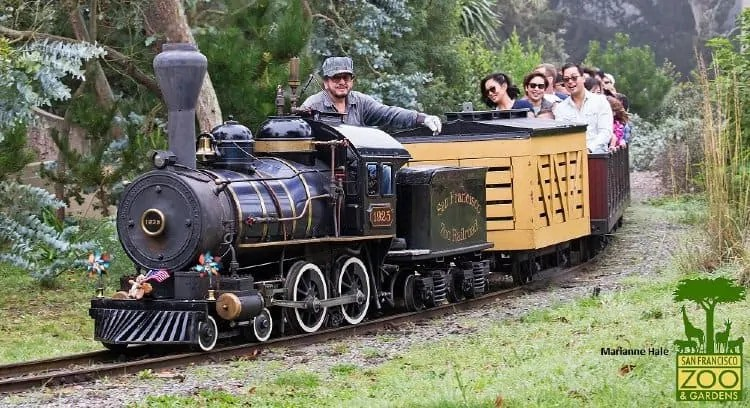 Train at San Francisco Zoo