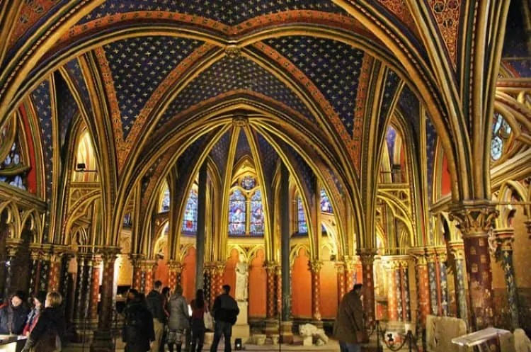 Lower Chapel at Sainte Chapelle