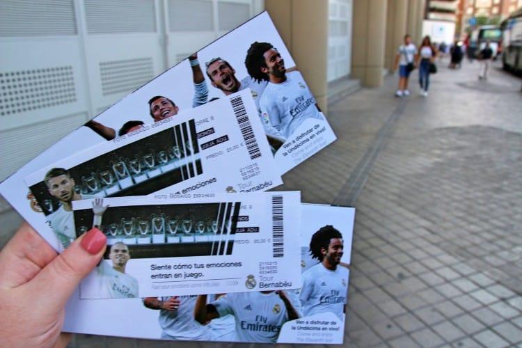 Bernabeu tour tickets