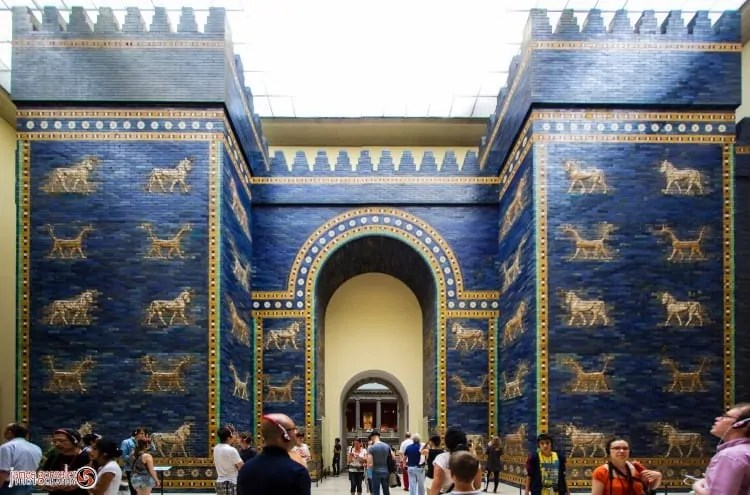 Ishtar Gate of Babylon at Pergamon Museum