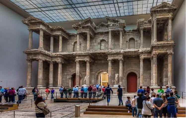 Miletus Market Gate at Pergamon Museum