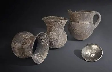 Silver Vessels from Troy at Neues Museum