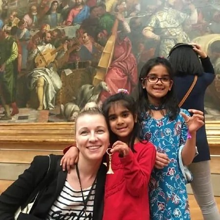 Visiting Louvre Museum with kids