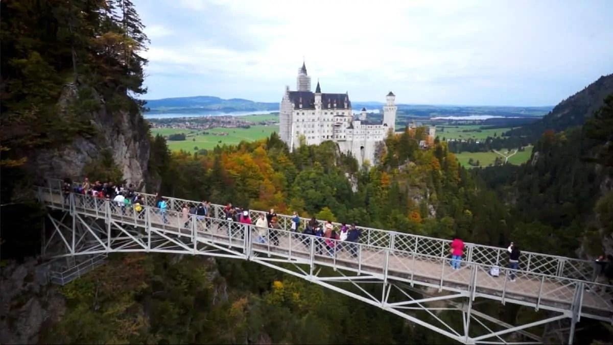 Neuschwanstein Castle's bridge