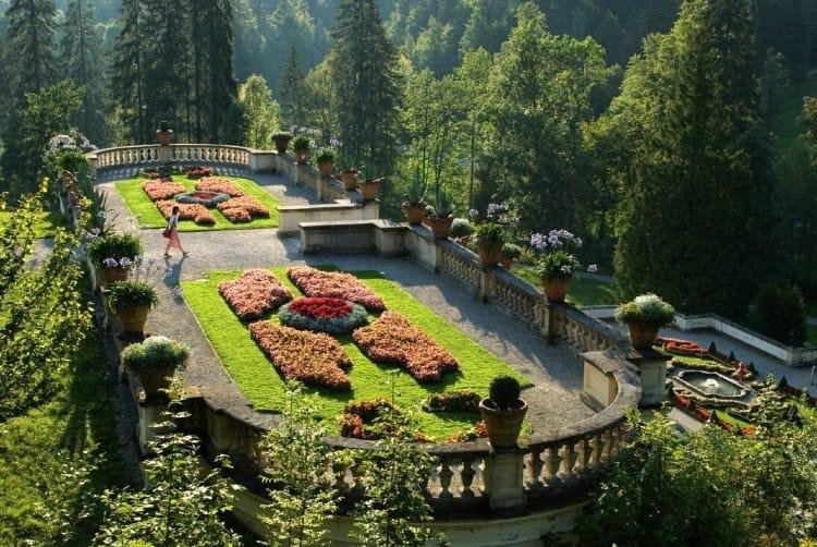 Terrace Gardens at Linderhof Park