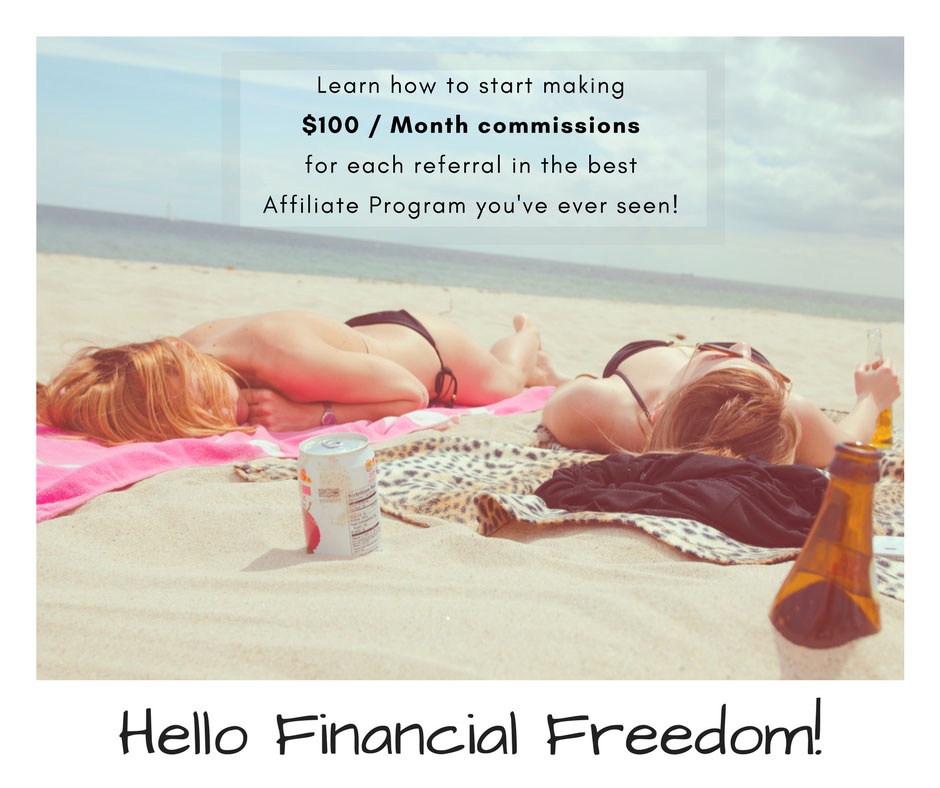 Hello to Financial Freedom with recurring affiliate programs