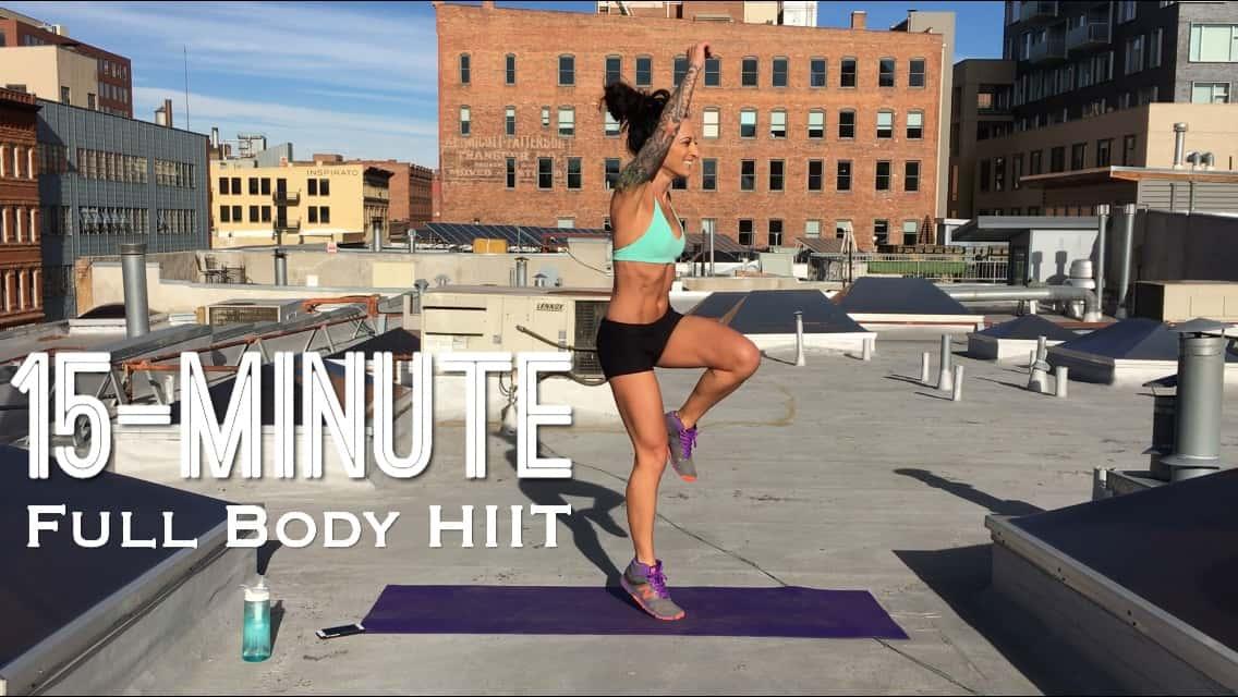 15-Minute Full Body Shred HIIT (no equipment)