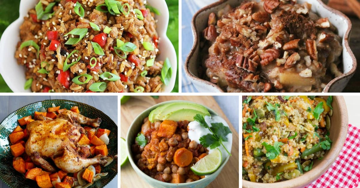"""10 """"Set it and Forget it"""" Crockpot Recipes for Healthy Slow Cooking"""