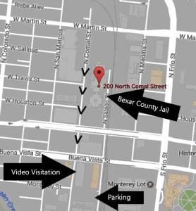 How to find video visitation and parking. Click to enlarge.