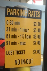 Parking Rates - The Bexar County Jail