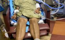 Jorge Gonzalez Zuniga in hospital after being injured by deputies