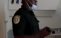 Deputy Dirio Sinclair, with the Osceola County Sheriff's Office, has been suspended for assaulting a handcuffed man