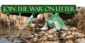 Join the war on litter