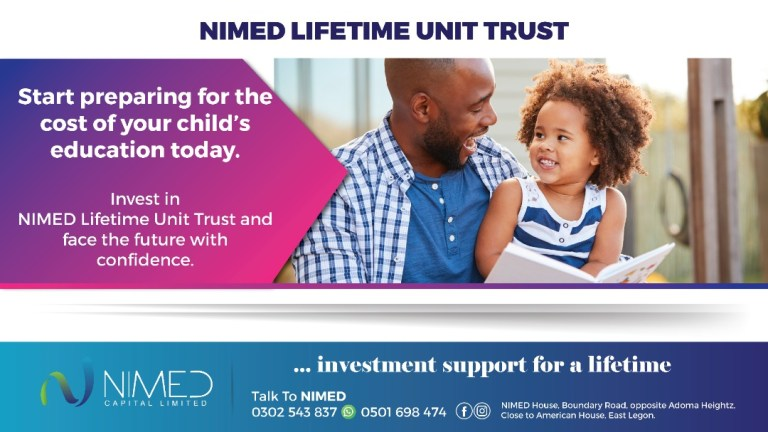 Competition in Ghana Mutual Fund industry deepens as NIMED Capital Launches its Lifetime Unit Trust