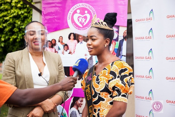 Miss Ghana Foundation, GNGC supports cost of surgery for16 year old scoliosis patient