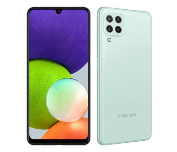 Samsung Galaxy A22 smartphone
