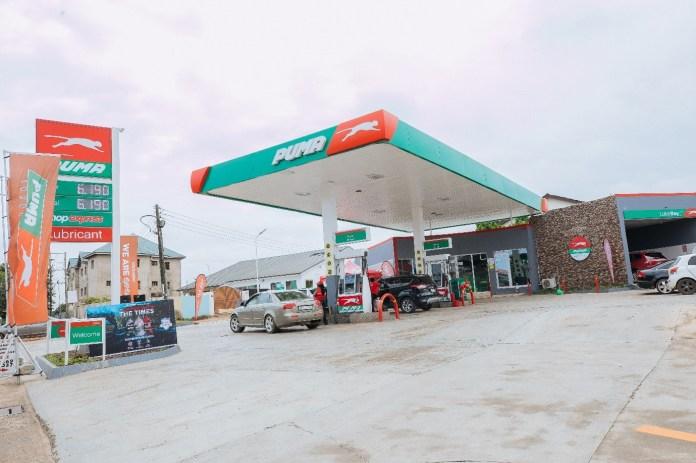 Puma Energy Ghana has opened new retail centre at Westland